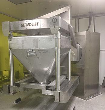 Pharmaceutical Project - New bin blender